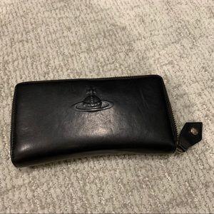 Vivienne Westwood Wallet (black leather)